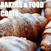 BAKERS/FOOD COATS
