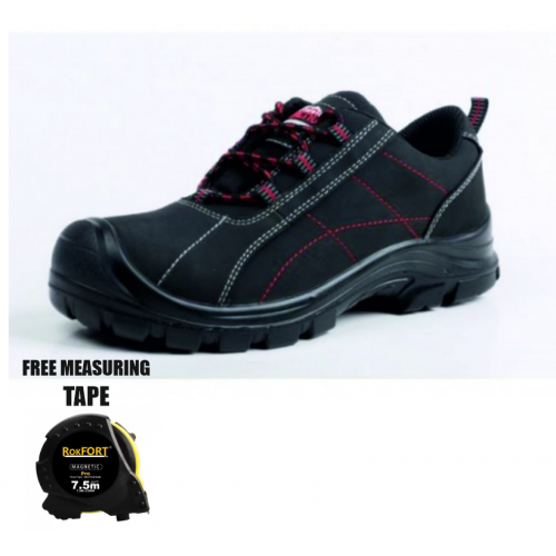 Meru Natural Leather Safety Shoe S3