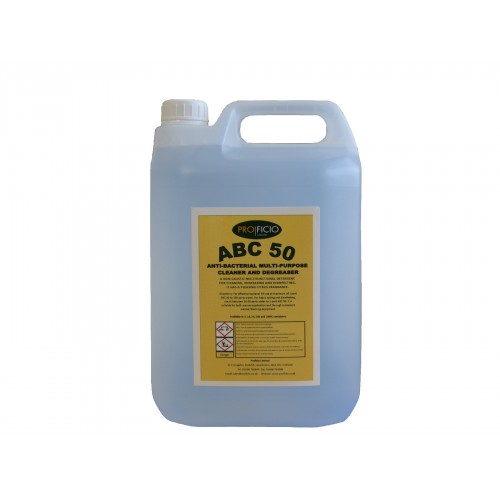 ABC50 - Bactericide Hard Surface Cleaner  - 5 Ltr