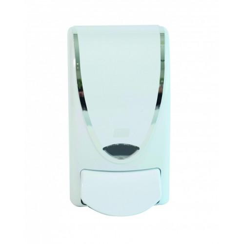 1 Ltr Soap Dispensor | White | for use with CLR1