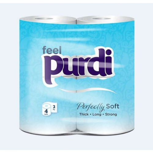 TRWL2P - Purdi Luxury Toilet Roll 2 Ply (40pk) - PRE ORDER NOW (stock due April 4th)