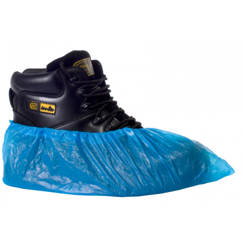 Disposable PVC Overshoes x100 (50 pairs)