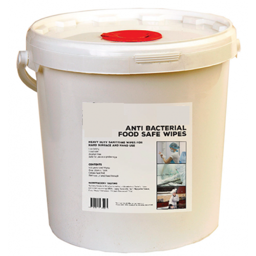 WIPE500 - Anti-Bac Multi Purpose Wipes (500 wipe bucket)