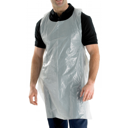 Disposable Aprons - White  x100