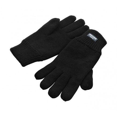 GTH - Thermal Thinsulate Lined Glove | Black