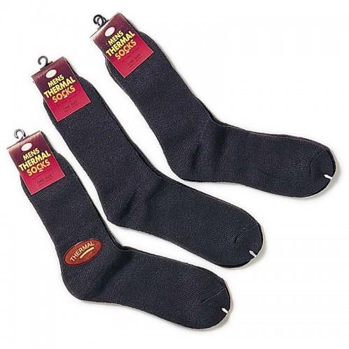 Thermal Terry Socks (Pack of 3 pair)