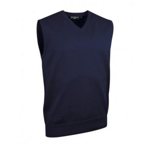GM25 - Glenmuir Cotton Vneck Slipover | NAVY