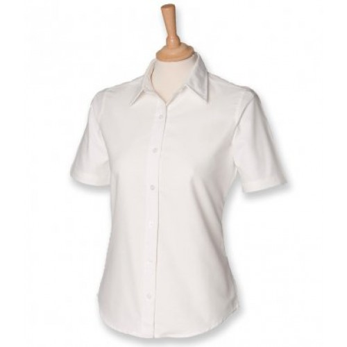 H516 - Ladies S/s Classic Shirt | WHITE