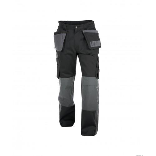 Dassy SEATTLE Two Tone Work Trousers | Black/Grey
