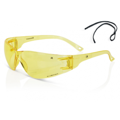 SSZZ9Y - Performance Wrap Around Safety Glasses - Yellow  - CLEARANCE