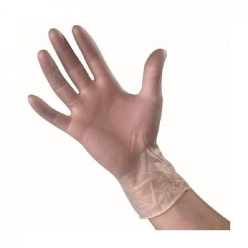 GSS - Disposable Vinyl Gloves Clear (100)