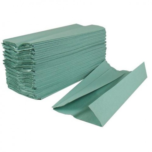 Green Centrefold Hand Towels, 2800 Pack