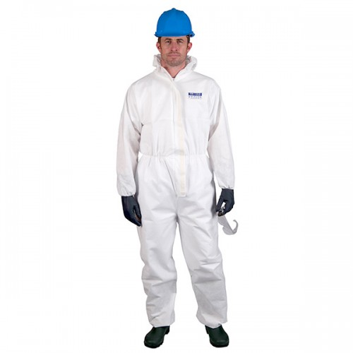 ST80 Biztex Coverall SMS FR | Pack of 25 | White