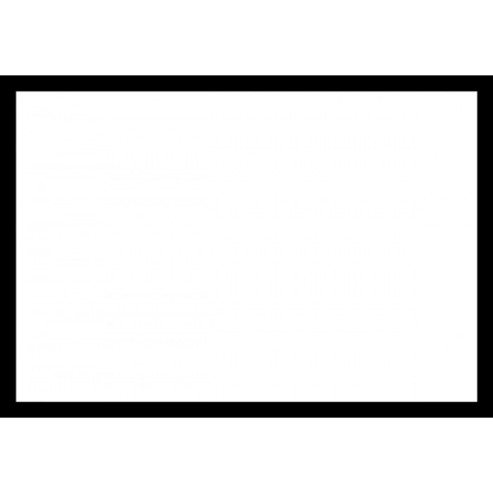 Blank Adapt A Sign Black Border 215x310mm