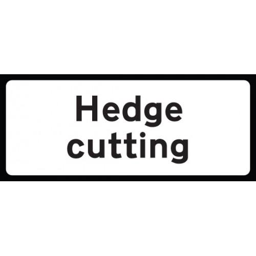 Hedge Cutting Supp Plate 850x355 Class RA1 Zintec