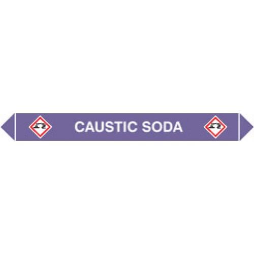 Flow Marker Pk Of 5 Caustic Soda