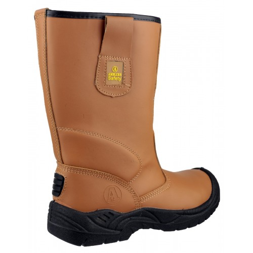 Fs142 Safety Rigger Boot Tan