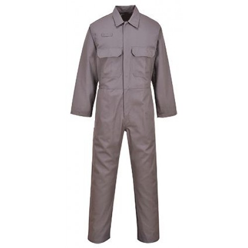 BIZ1 BizWeld Boilersuit  | Grey | REGULAR