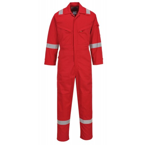 Lightweight AS Coverall, Red, XXL | R