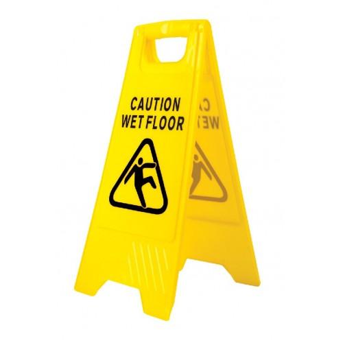 Wet Floor Warning Sign | Yellow