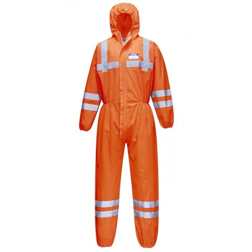 ST36 VisTex Hi-Vis Coverall | Orange