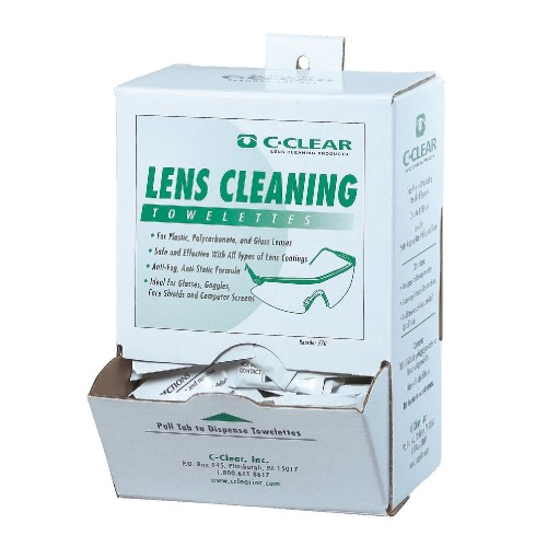 Lens Cleaning Towelettes, White,  | R
