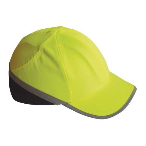 Hi Vis Bump Cap, Yellow