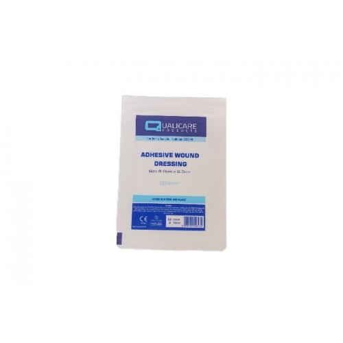 QD6040 - Adhesive Wound Dressing 10cm X 8cm (pack of 50)