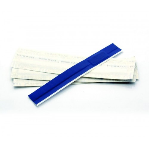 QP7075 - Blue Detectable Finger Extension Plaster 160x20mm (50)