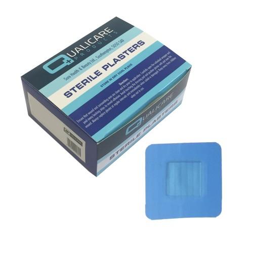 QP7072 - Blue Detectable 7.2cm X 2.5cm (100)