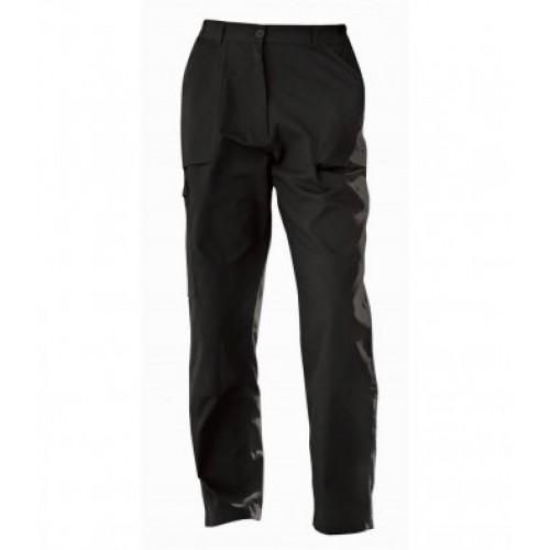 TRJ334BK - Regatta Ladies Action Trousers   Black   REG