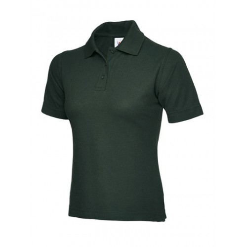 UC106BG - Suresafe Ladies Fitted Polo Shirt | Bottle Green