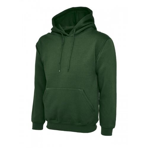 UC502 - Suresafe Classic Hooded Sweatshirt | Bottle Green