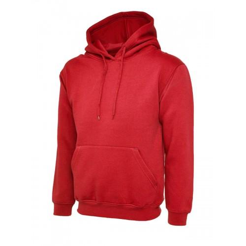 UC502 - Suresafe Classic Hooded Sweatshirt | Red
