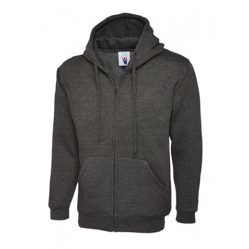 UC504 - Suresafe Classic Zipped Sweatshirt | Charcoal