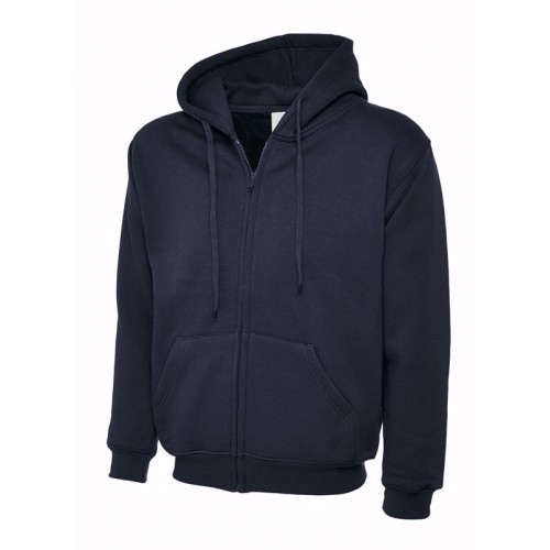 UC504 - Suresafe Classic Zipped Sweatshirt | Navy Blue