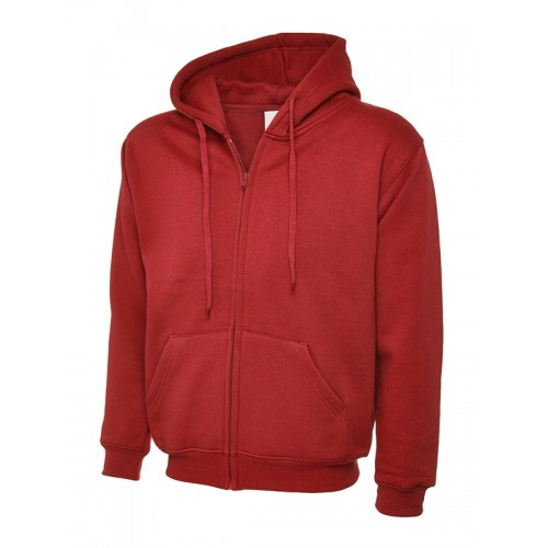 UC504 - Suresafe Classic Zipped Sweatshirt | Red