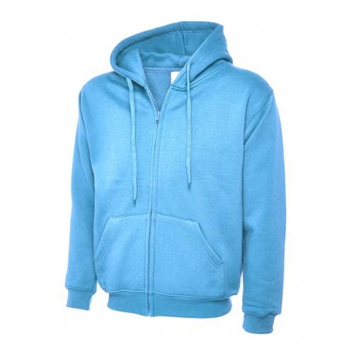 UC504 - Suresafe Classic Zipped Sweatshirt | Sky Blue