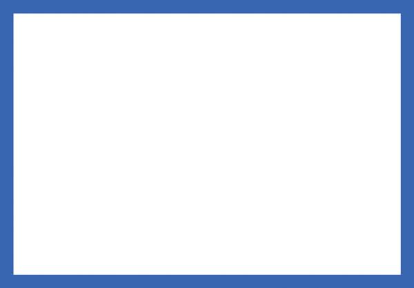 Blank Adapt A Sign Blue Border 215x310mm